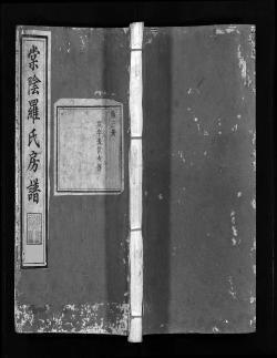 房间的谱子-2.支谱   各房最高祖是出自同一始祖的同胞兄弟,房的组成以五服亲属
